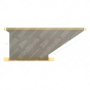 0 Flat a 188 pin, Misure: 112x45mm