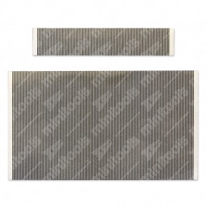 0 Kit flats: 86 pin (64x12,5mm) + 118 pin (86x50mm)