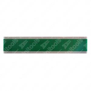 0 Flat a 156 pin, Misure: 109x22,5mm