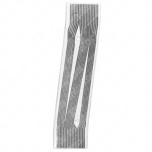 0 Flat a 18 pin, Misure: 12,5x54,5mm