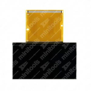 LCD display for Renault Twingo dashboards with manual transmission