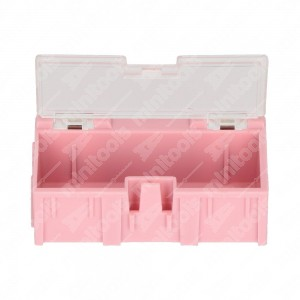 0 Plastic box ABS 64x31x21mm - 13 gr.
