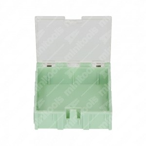 0 Plastic box ABS 64x64x21mm - 22 gr.