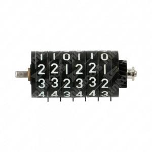 0 Numeratore per contakm analogici 6 cifre - ingranaggio laterale 20 denti