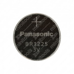 0 Batteria a bottone, al litio Panasonic BR1225 3V - 12x2,5mm 48mAh 0,03mA