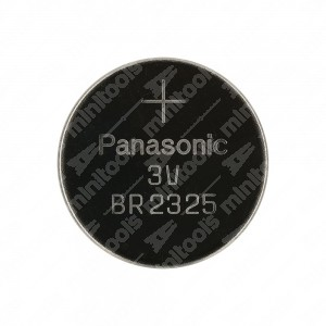 0 Batteria a bottone, al litio Panasonic BR2325 3V - 23x2,5mm 165mAh 0,2mA