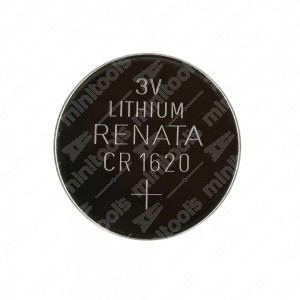 0 Batteria a bottone, al litio Renata CR1620 3V Diam. 16x2mm 70mAh