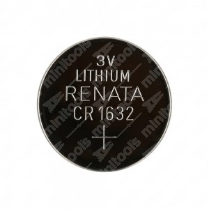 0 Batteria a bottone, al litio Renata CR1632 3V Diam. 16x3,2mm 125mAh