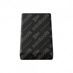 0 Plastic box ABS V0 130x80x30mm - 70 gr.