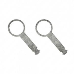 Pair of release keys for Audi / Volkswagen car radio