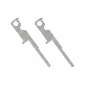 Pair of release keys for Kenwood car radio