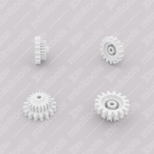 Gear (16 external - 20 internal teeth) for Mercedes W126 and R107 instrument clusters