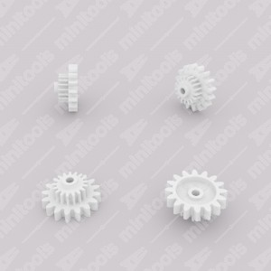 Gear (16 external - 17 internal teeth) for Mercedes W126 and R107 instrument clusters