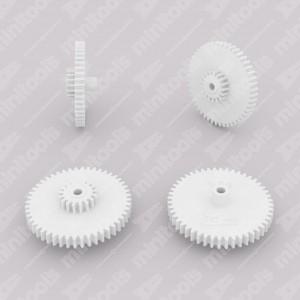 Gear (48 external - 17 internal teeth) for Mercedes R107 instrument clusters