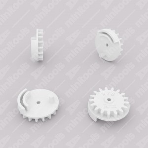 Gear (17 teeth) for Porsche 911 instrument clusters