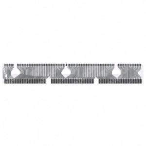 0 Flat a 188 pin, Misure: 171,5x23mm