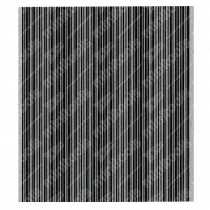 0 Flat a 100 pin, Misure: 78,5x87mm