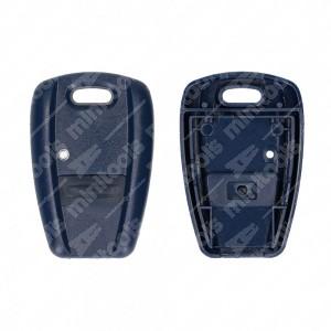 0 Cover adattabile chiavi auto - 33,2x49,8mm - Colore blu
