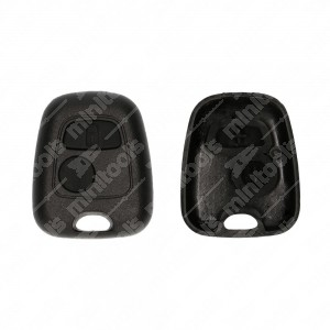 0 Cover adattabile chiavi auto (completa di tasti) 2? vers. - 35,9x43,8mm