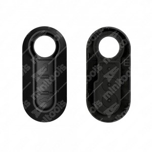 0 Cover adattabile chiavi auto (completa di tasti) - 31,8x70mm
