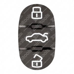 0 Gommino adattabile chiavi auto - 21x37mm - (1? vers.)