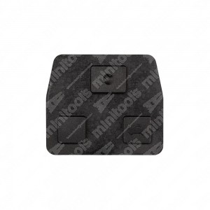 0 Gommino adattabile chiavi auto - 32x26,5mm