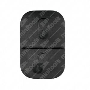 0 Gommino adattabile chiavi auto a due tasti - 20,6x31,4mm