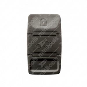0 Gommino adattabile chiavi auto a tre tasti - 21,6x37,9mm